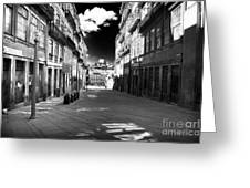 To The Light In Porto Greeting Card