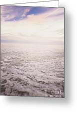 To The Ocean White With Foam Greeting Card