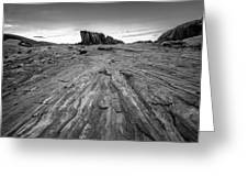 To The Rock Greeting Card
