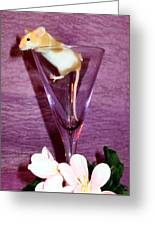 Toasting Friends Greeting Card