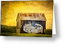Tobacco Barn In Kentucky Greeting Card