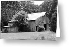barn in Kentucky no 10 Greeting Card