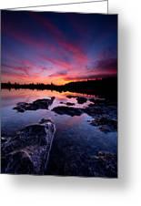 Tobermory Sunset 2 Greeting Card