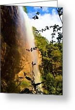 Toccoa Falls Greeting Card