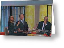 Today Show Cast Greeting Card