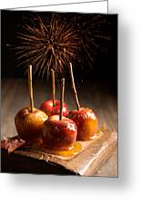 Toffee Apples Group Greeting Card by Amanda Elwell