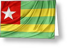 Togo Flag Greeting Card