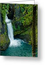 Toketee Falls Greeting Card