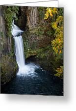Toketee Waterfall Greeting Card