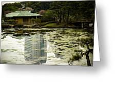 Tokyo Reflection Greeting Card