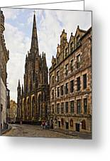 Tolbooth St Johns Kirk Greeting Card