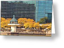 Toledo Riverfront 4195 Greeting Card