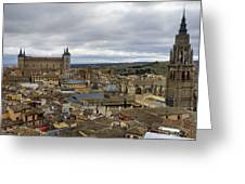 Toledo View Greeting Card