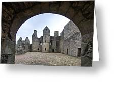Tolquhon Castle 3 Greeting Card