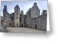 Tolquhon Castle 4 Greeting Card