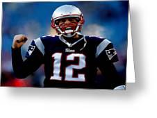 Tom Brady Back To The Super Bowl Greeting Card