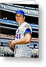 Tom Seaver Greeting Card