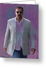 Tom Selleck Greeting Card