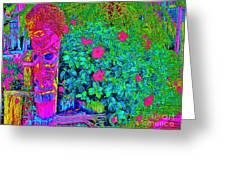 Tom Tiki Greeting Card