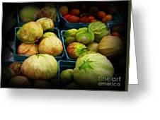 Tomatillos Greeting Card
