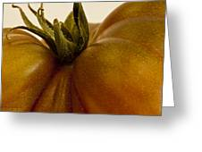 Tomato Macro Greeting Card
