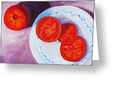 Tomato Greeting Card