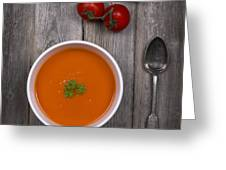 Tomato Soup Vintage Greeting Card