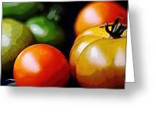 10044 Tomatoes Greeting Card