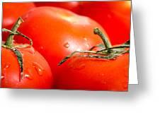 Tomatoes. Greeting Card