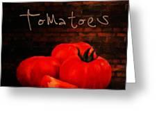Tomatoes II Greeting Card
