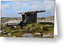 Tomb In Ireland Greeting Card