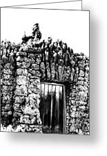 Tomb Of Stone Greeting Card