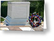 Tomb Of The Unknown Greeting Card