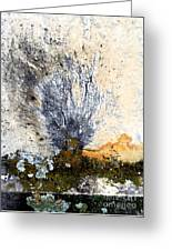 Tombstone Abstract Greeting Card