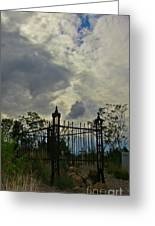 Tombstone Picture Perfect Halloween Image Greeting Card