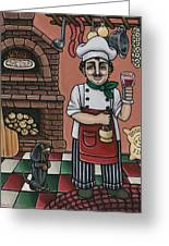 Tommys Italian Kitchen Greeting Card