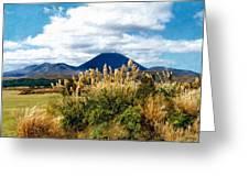 Tongariro National Park New Zealand Greeting Card