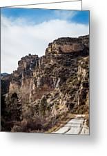 Tongue River Canyon Greeting Card
