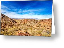 Tonto National Forest Apache Trail Greeting Card