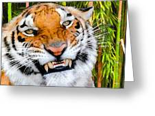 Too Close Greeting Card by Lester Phipps