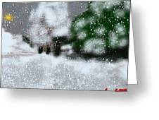 Too Close To Winter Greeting Card