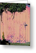 Tool Shed Two Greeting Card