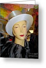 Top Hat Tallulah Greeting Card