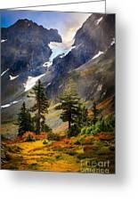 Top Of Cascade Pass Greeting Card