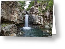 Top Of Cidar Falls Greeting Card by Shannon Rogers