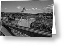 Top Of The Dam Greeting Card