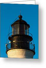 Top Of The Key West Lighthouse  Greeting Card