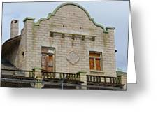 Top Of The Rhyolite Train Depot Greeting Card
