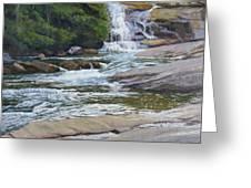 Top Of Triple Falls Greeting Card