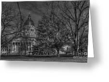 Topeka Capital Greeting Card